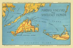 1920 Martha's Vineyard & Nantucket Islands