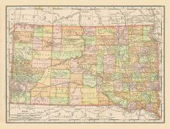 1898 McNally South Dakota