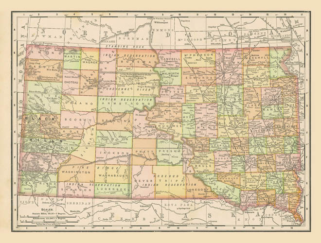 1898 McNally South Dakota on illinois us map, central time zone us map, kentucky us map, guatemala us map, maryland us map, middle west us map, great lakes us map, idaho us map, egypt us map, minneapolis us map, adirondack mountains us map, sioux city iowa us map, wyoming us map, washington d.c. us map, minnesota us map, st. louis us map, north america us map, netherlands us map, montana us map, virginia us map,