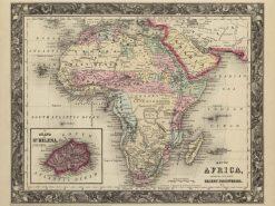 1860 Mitchell Africa