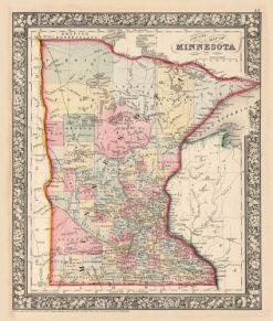 1865 Mitchell Minnesota