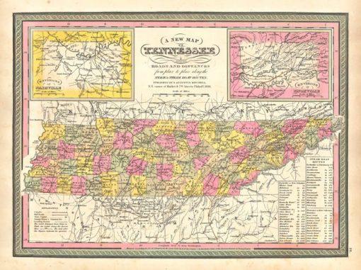 1846 Mitchell Tennessee
