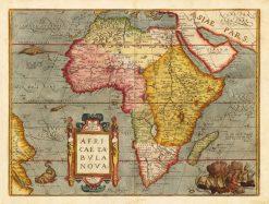 1570 Ortelius Africa