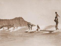 Surf Riding - Waikiki