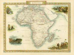 1851 John Tallis Africa
