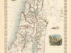 1851 Tallis Ancient Palestine