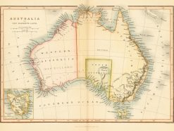 1842 John Tallis Australia