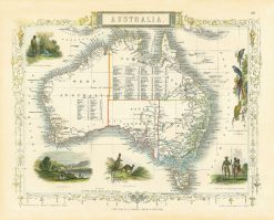 1851 John Tallis Australia