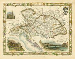 1851 John Tallis Austria
