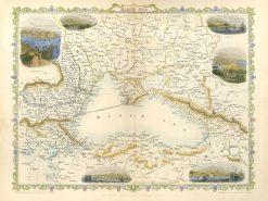 1850-2012 John Tallis Black Sea