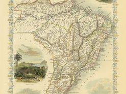 1851 John Tallis Brazil