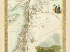 1851 John Tallis Syria