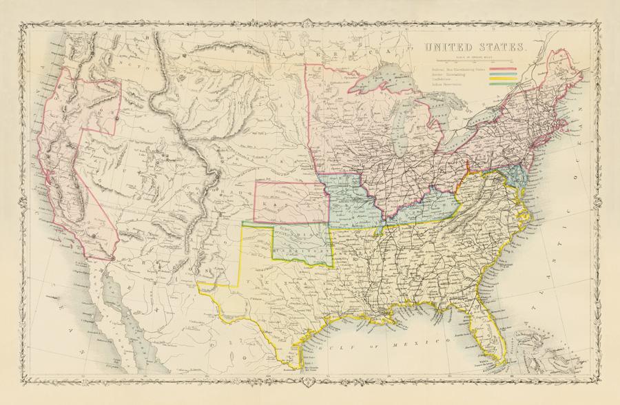 1861 John Tallis US