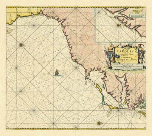 1779 Van Keulen Carolina