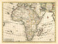 1710 Van der Aa Africa