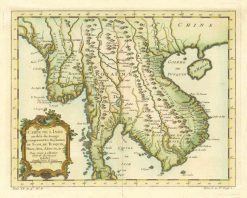 1852 Bellin Siam (Thailand)