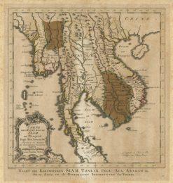 1773 Bellin - Van Schley Siam (Thailand)