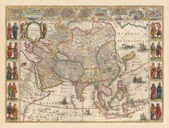 1640 Blaeu Asia