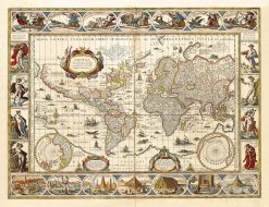 Blaeu World 1630