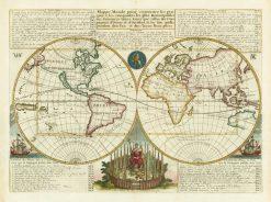 Chatelain World 1719