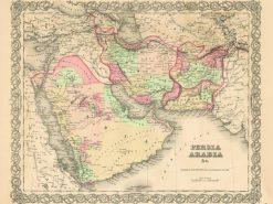 1856 Colton Persia Arabia