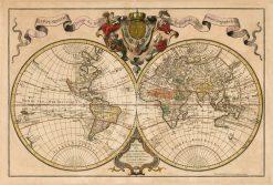 De Isle World 1720