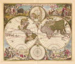 De Wit World 1670