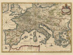 Janson Europe (Imperium Carolin Mangni) 1657