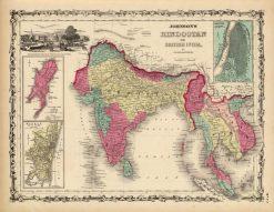 1860 Johnson India (Hindostan)