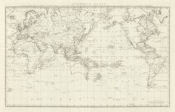 Leinden - Cook World Chart (Danish Edition) 1795-1803
