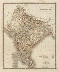 1827 Longman (Hall) India (Hindustan)