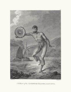 Man of the Sandwich Islands Dancing