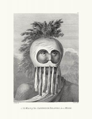 Man of the Sandwich Islands in a Mask