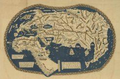 Matellus (Ohrmann) World (Oceanus Indicus Meridional) 1490-1856
