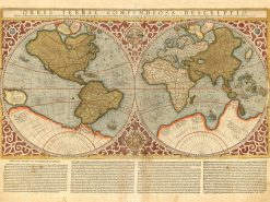 Mercateur World 1595