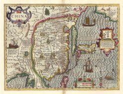 1606 Mercator Hondius China