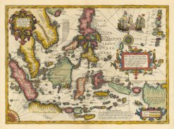 1606 Mercator Hondius India Orientalis
