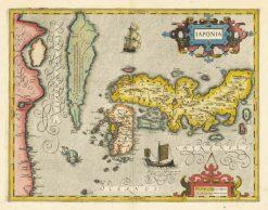 1606 Mercatur Hondius Japan