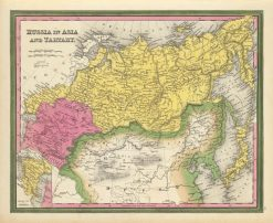 1860 Mitchell Russia in Asia