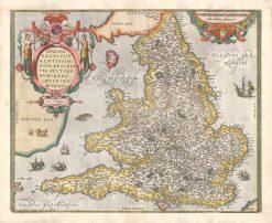 1584 Ortelius England