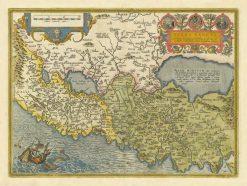 1584 Ortelius Holy Land