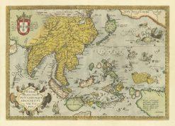 1570 Ortelius India Orienalis