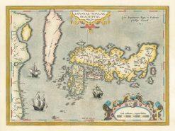 1595 Ortelius Japan