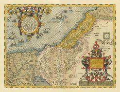1570 Ortelius Palestine