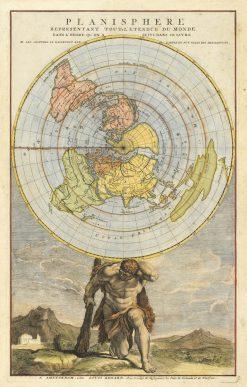 Renard Planisphere 1730