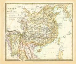1834 SDUK China & Birman Empire