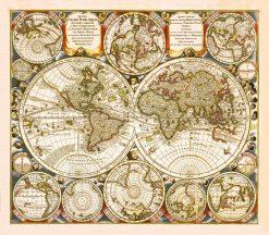 Seutter World 1730