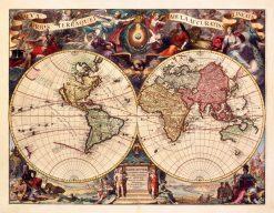 Vander Aa World World 1727