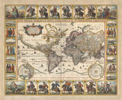 Visscher World 1652