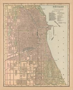 1898 Cram Chicago